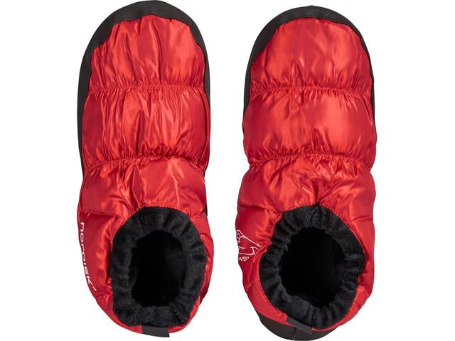Nordisk Chaussures duvet, ribbon red